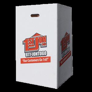 Card Board Trash Box Rental