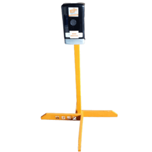 Wooden Sani Stand