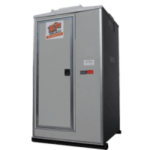 Vip single portable restrooms rental