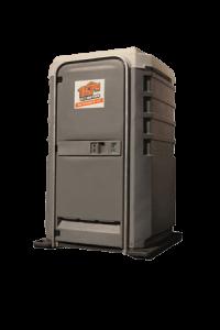 Deluxe portable toilet rental