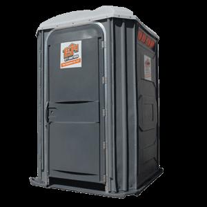 Wheelchair accessible portable restroom